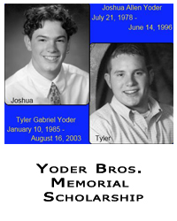 Yoder Brothers Scholarship