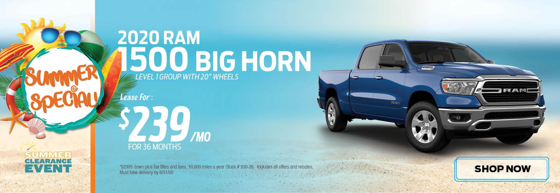 2020 RAM 1500 Special