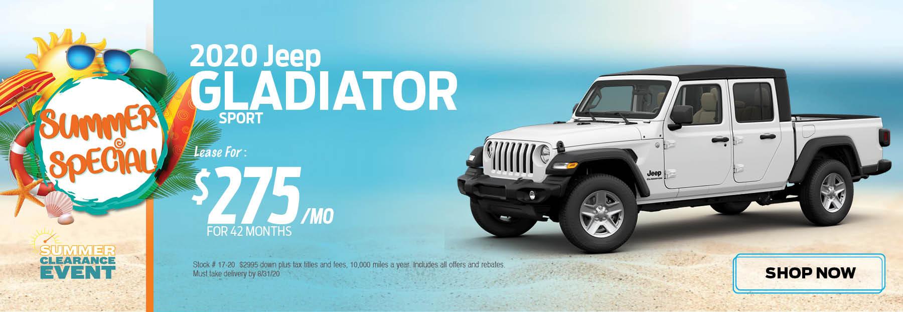 2020 Jeep Cherokee Special