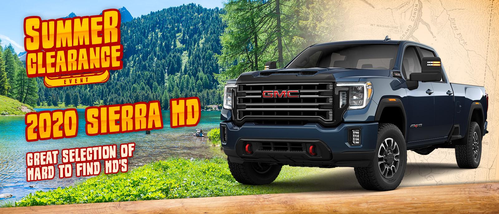 2020 GMC Sierra HD Special